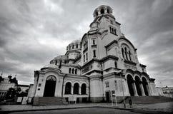 St Alexander Nevsky Cathedral Royalty-vrije Stock Foto's