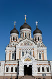 St. Alexander Nevsky Cathedral. In Tallinn, Estonia Royalty Free Stock Image