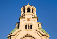 The St. Alexander Nevsky Cathedral, Bulgaria Royalty Free Stock Photography