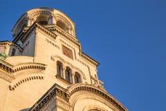 The St. Alexander Nevsky Cathedral Stock Image