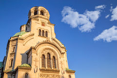 The St. Alexander Nevsky Cathedral Stock Photography