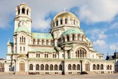 St Alexander Nevsky Cathedral, Sofia Fotografia Stock