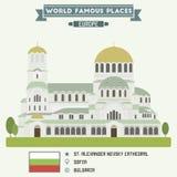 St. Alexander Nevsky Cathedral. Sofia Stock Image
