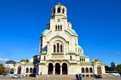 The St. Alexander Nevsky Cathedral Stock Photos