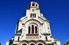 The St. Alexander Nevsky Cathedral Royalty Free Stock Photo