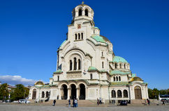 The St. Alexander Nevsky Cathedral Royalty Free Stock Image