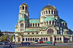 The St. Alexander Nevsky Cathedral Stock Image