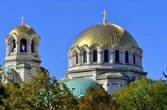 St. Alexander Nevsky Cathedral Royalty Free Stock Photography
