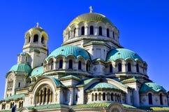 St. Alexander Nevsky Cathedral Stock Image