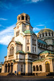 The St. Alexander Nevsky Cathedral Stock Images