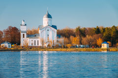 St. Alexander Nevsky Church in Gomel, Belarus. Stock Photos