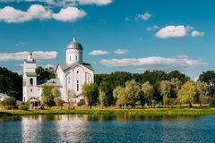 St Alexander Nevsky Church in Gomel, Wit-Rusland royalty-vrije stock foto