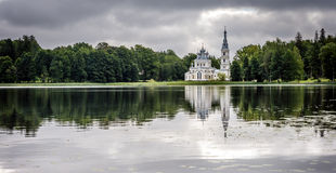 St. Alexander Nevsky church in Stameriena, Latvia Royalty Free Stock Images