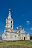 St. Alexander Nevsky church in Stameriena Royalty Free Stock Photos