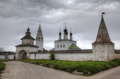St. Alexander Nevsky Monastery Suzdal Lizenzfreie Stockfotos