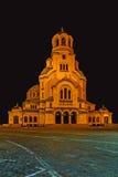 St Alexander Nevsky Orthodox Cathedral Stock Fotografie
