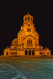 St. Alexander Nevsky Orthodox Cathedral Stock Photography