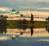 St. Alexander of Svir Monastery Royalty Free Stock Images