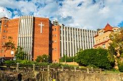 St Aloysius College, uma escola católica para meninos em Kirribilli perto de Sydney - Austrália Imagem de Stock Royalty Free