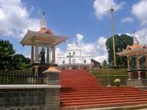 St. Alphonsa Church. Church of newly cannonised St, Alphonsa of Bharananganam, Kerala, India royalty free stock photography
