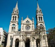 St-Ambroise Church in Paris Stock Image
