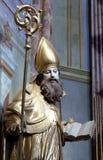 St Ambrose Stockbild