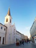 St Ana Roman Catholic Church - Oradea, Rumania Fotografía de archivo libre de regalías