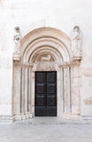 St Anastasia church door Royalty Free Stock Photo
