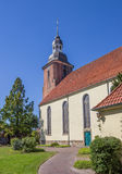 St. Andreas church in the center of Cloppenburg Royalty Free Stock Photo