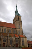 St. Andreas church. Hildesheim Stock Photos