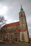 St. Andreas church. Hildesheim stock image