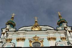 St AndrewKathedraal in Kiev, de Oekraïne Stock Afbeelding