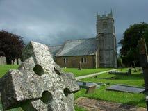 St Andrew, Ainsford, Somerset, Regno Unito immagini stock libere da diritti