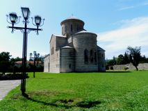 St. Andrew the Apostle Cathedral or Pitsunda Cathedral Stock Image