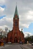 St. Andrew Bobola Church in Bydgoszcz, Poland. Royalty Free Stock Photography