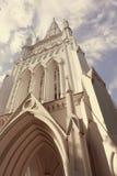 St Andrew Cathedral à Singapour Image libre de droits