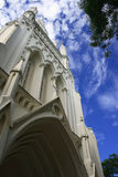 St Andrew Cathedral. External view of St Andrew Cathedral in Singapore Royalty Free Stock Photo