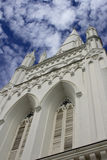 St Andrew Cathedral. External view of St Andrew Cathedral in Singapore Royalty Free Stock Photography
