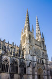 St. Andrew Cathedral in Bordeaux Royalty Free Stock Photos