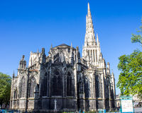 St. Andrew Cathedral in Bordeaux Royalty Free Stock Images