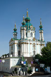 St Andrew Church. Saint Andrew orthodox church in Kiev, Ukraine Royalty Free Stock Photography