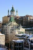 St. Andrew Church and Descent, Kiev Stock Photo