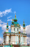 St. Andrew church in Kiev, Ukraine Royalty Free Stock Photos