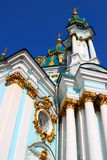 St. Andrew Church in Kiev Royalty Free Stock Photos