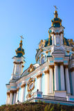 St. Andrew Church in Kiev, Ukraine Royalty Free Stock Photography