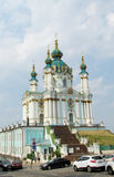 St. Andrew Church in Kiew, Ukraine Stockfoto