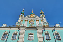 St Andrew church in Kyiv  Ukraine. Stock Images