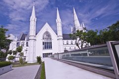 St Andrew Church of Singapore Stock Image
