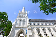 St Andrew Church in Singapore Stock Image