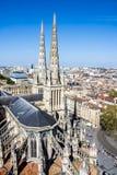 St Andrew katedra, bordowie, Francja fotografia stock